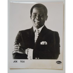 Mercury Records Artist Promo Photograph Joe Tex.