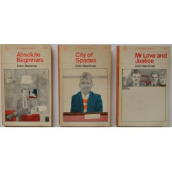 Colin Macinnes. Trilogy of Penguin First Editions.