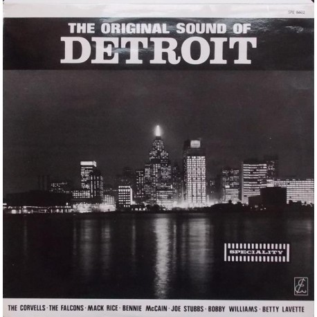 The Original Sound of Detroit. Various Artists.