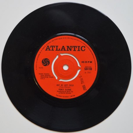 Percy Sledge. 'Out Of Left Field'.