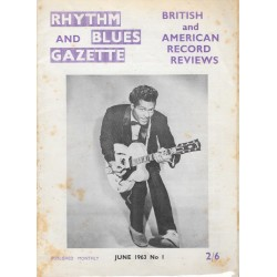 Rhythm & Blues Gazette Issue 1