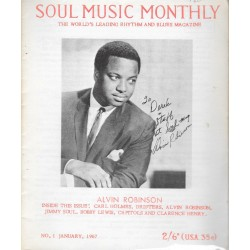Soul  Music Monthly Issue 1