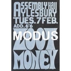 Zoot Money. Original Poster. 1967