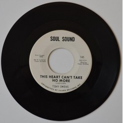 Tony Owens. 'This Heart Can't Take No More'