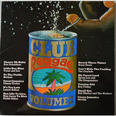 Club Reggae. 'Volume 2' Compilation L.P.