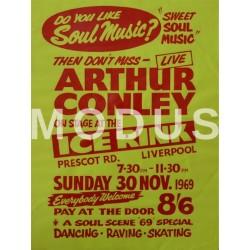 Arthur Conley, Liverpool 1969