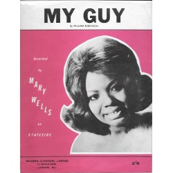 Mary Wells, 'My Guy' Sheet Music