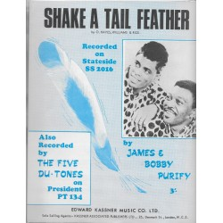 James & Bobby Purify, 'Shake a Tail Feather' Sheet Music
