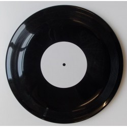 Novelty White Label '45' Frisbee