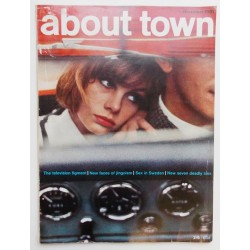 'About Town' Magazine November 1961.