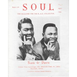 SOUL The Magazine for the R&B Collector Issue 3