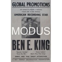 Original Ben E King Poster.
