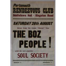 'The Boz People.' Original Poster 1965.