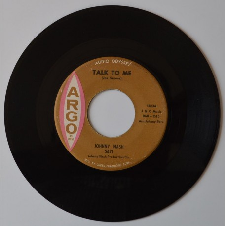 Johnny Nash. 'Talk To Me'.
