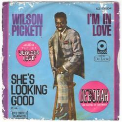 "Wilson Pickett ""She's Looking Good"" EP (Brazil)"