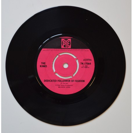 The Kinks. 'Dedicated Follower of Fashion.'